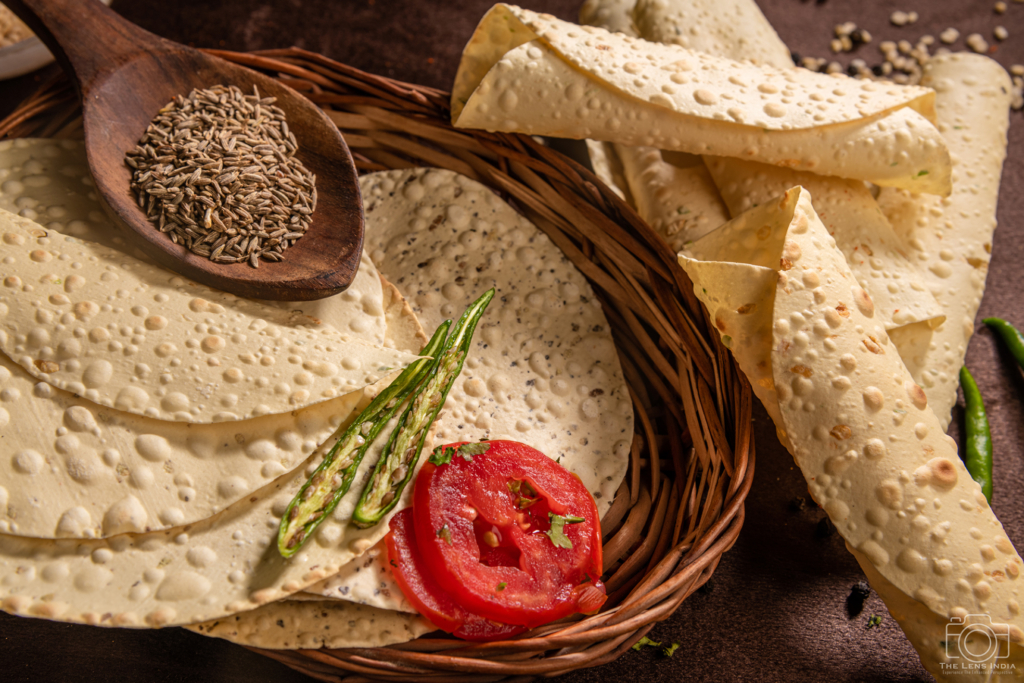Food Photography- Papad Photography