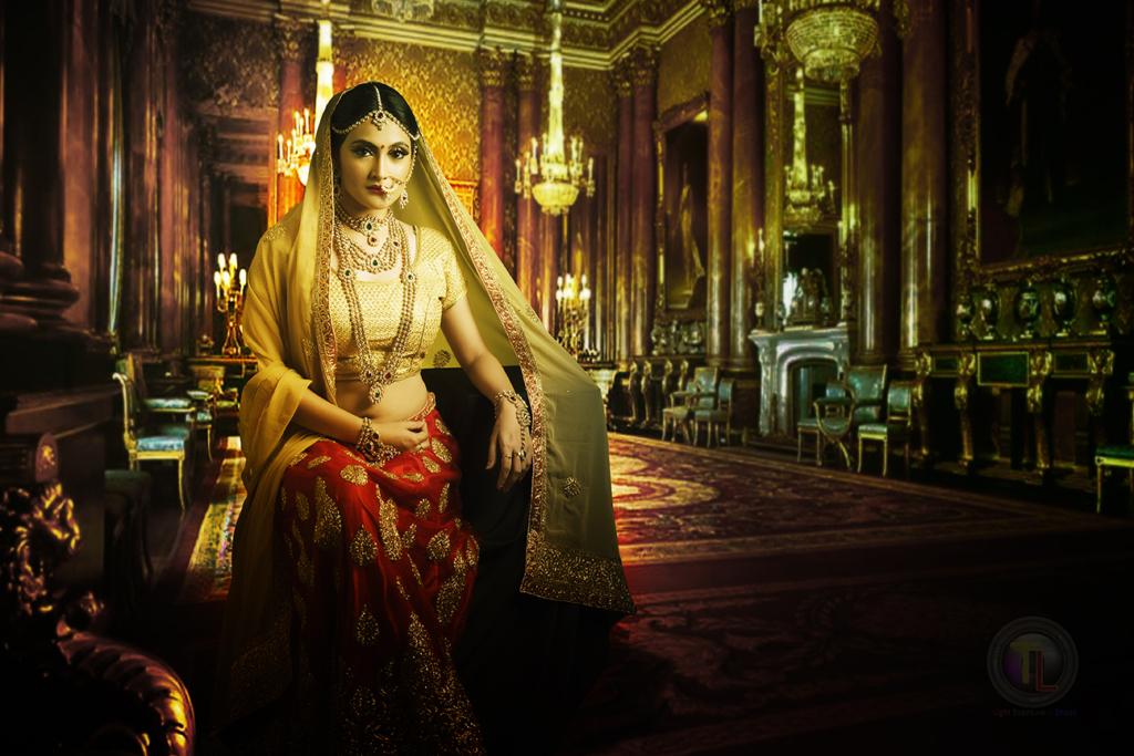 Fashion photography- Bridal wear photoshoot