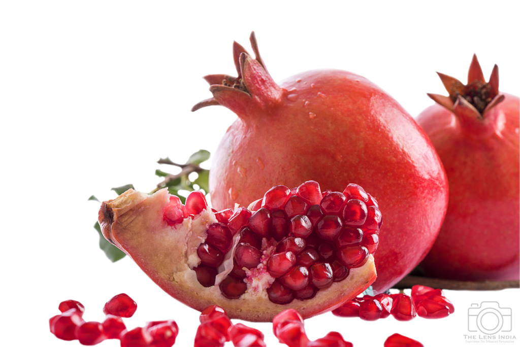 Food Photography- Pomegranate Macro Photography