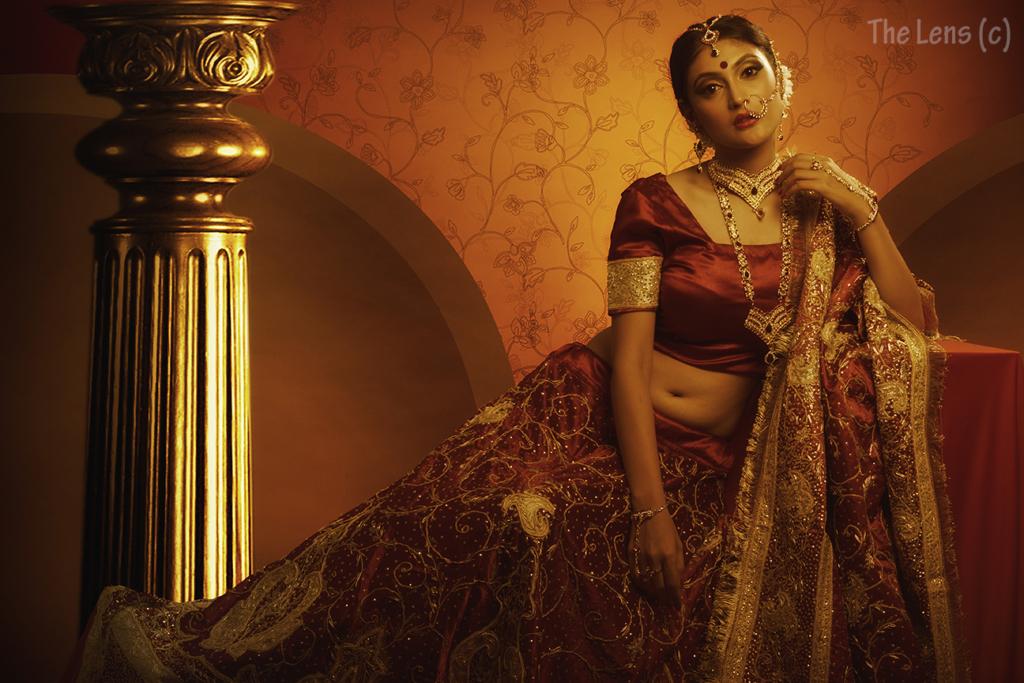Fashion and Glamour photoshoot- Bridal wear photography