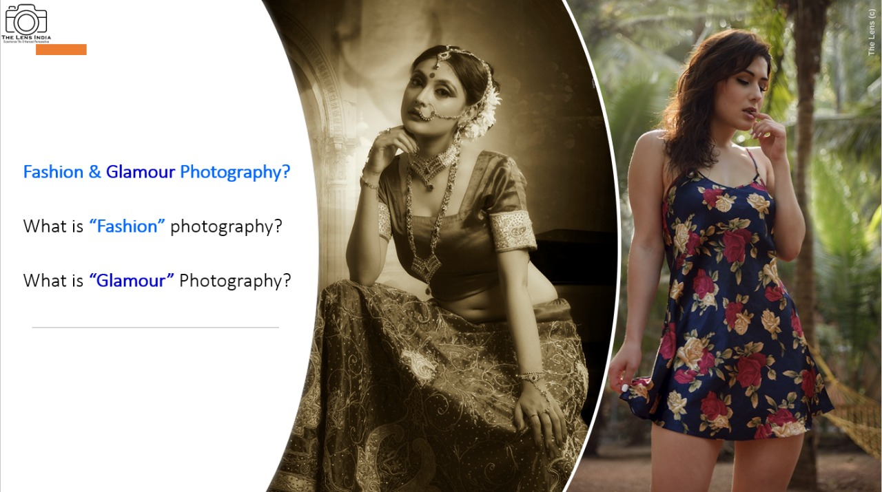 Fashion Photography and Glamour Photography difference